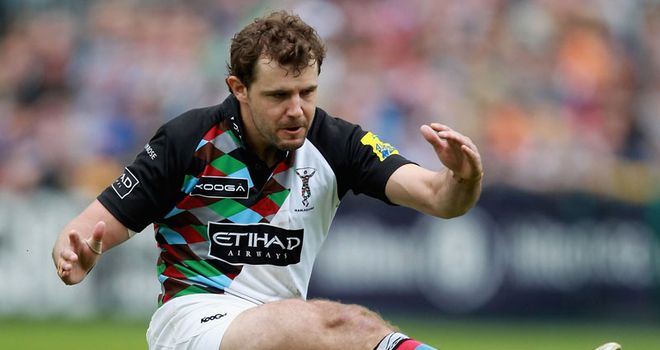 Evans booted 19 points in Quins' victory over London Irish