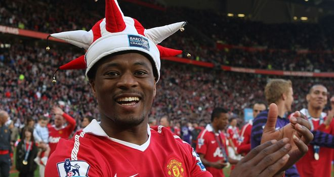 Evra: Confident Man Utd will be celebrating another league title next May