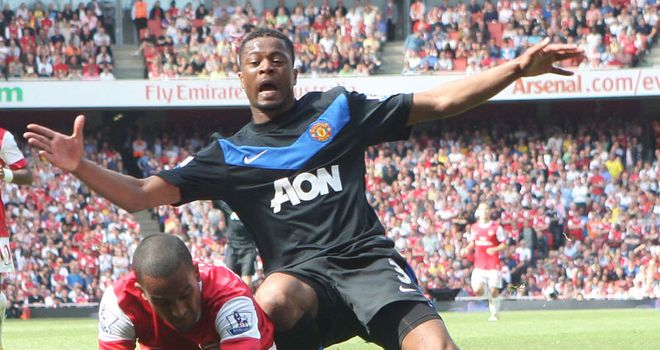 Evra: United defender unimpressed with display against Arsenal