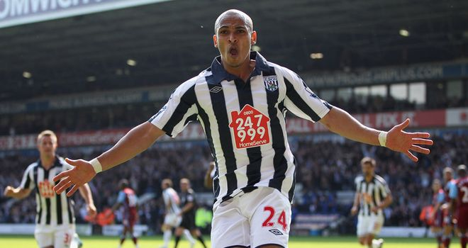 Odemwingie: Top scorer for the Baggies last term and a reported Arsenal target