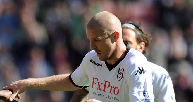 Philippe Senderos: Fulham defender is looking for a place in the starting XI