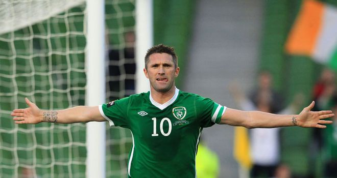 Keane: Scored his 47th and 48th goals in his 106th appearance