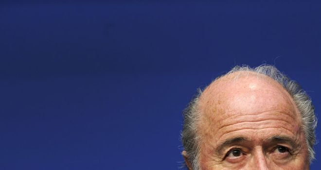 Blatter: Will stand unopposed in Wednesday's Fifa presidential election