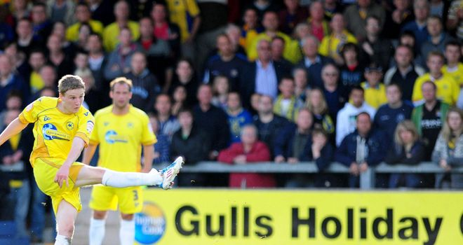 O'Kane: Set to be offered a new deal at Torquay