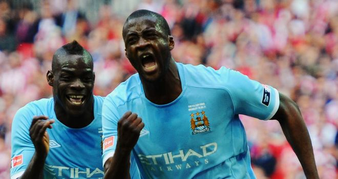 Yaya Toure: Barca snub led him to City, where he is now setting lofty targets