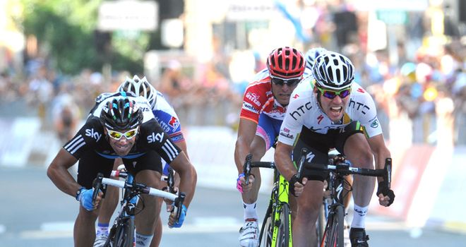 Cavendish: Had the power to hold off Appollonio and Petacchi at the finish