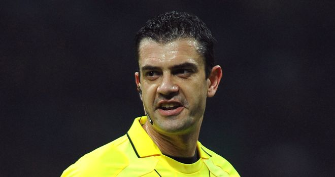 Kassai: Youngest ever referee for a Champions League final