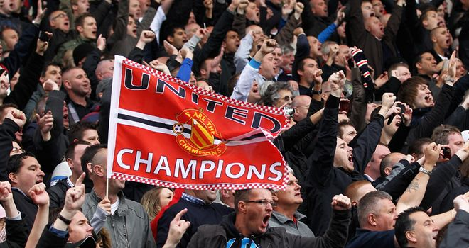 United are keen for their loyal supporters to join in the celebrations