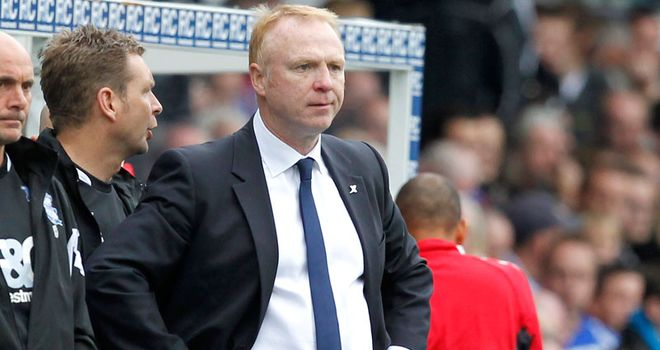 McLeish: Determined to stay as Birmingham manager and feels he is in a privileged position