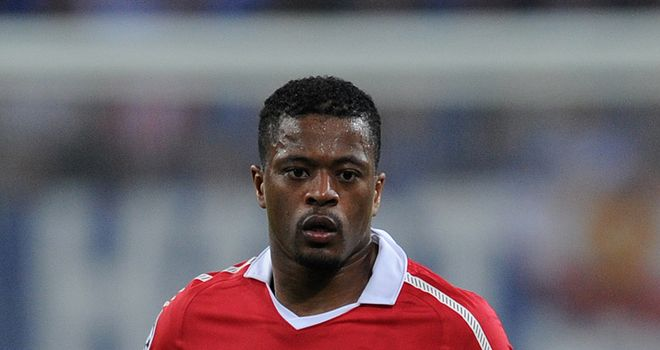 Evra: Setting his sights on Champions League success