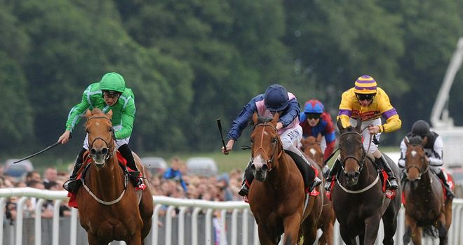 Sagramor (l): Heads to Royal Ascot after this Haydock win