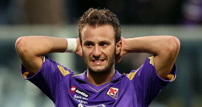 Gilardino: Will be out of action for six weeks after breaking his leg against Udinese