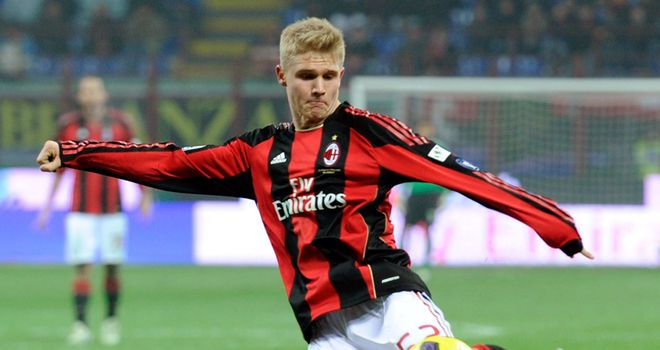 Alexander Merkel: Is co-owned by Genoa and AC Milan