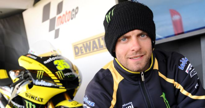 Cal Crutchlow: Hopeful of securing a podium finish