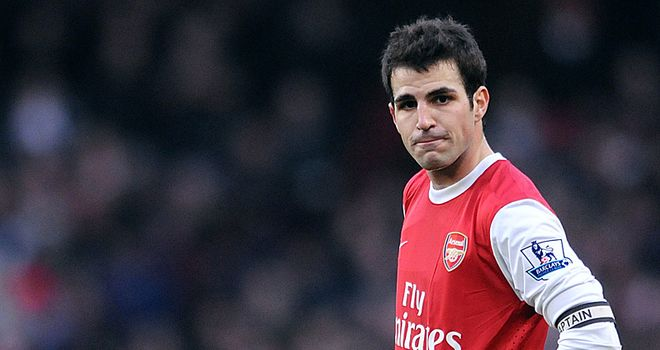 Fabregas: Left Barcelona for Arsenal in 2003