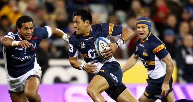 Christian Lealiifano: kicked nine points in the closing stages