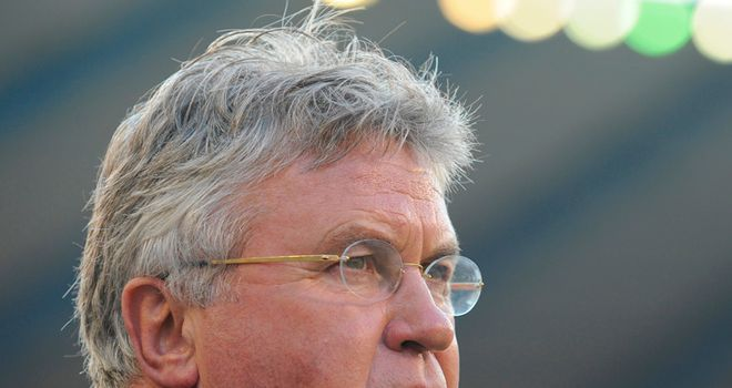 Guus Hiddink: Set to leave his role as Turkey coach and has been linked with a return to Chelsea
