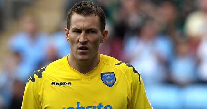 Jamie Ashdown: Portsmouth goalkeeper was recently a loan target for Millwall
