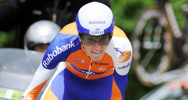 Lars Boom: Moved into the overall lead