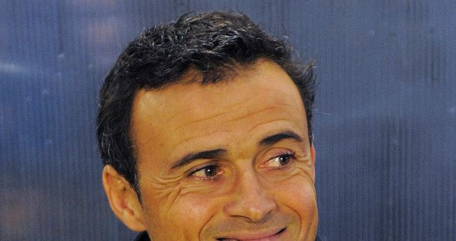 Enrique: His first senior coaching post will see him cut his teeth in the Italian top flight