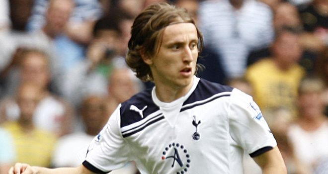 Modric: Croatia international is understood to have handed in a transfer request