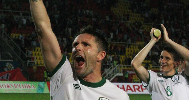 Keane: Backed by O'Dea to atone for Slovakia miss