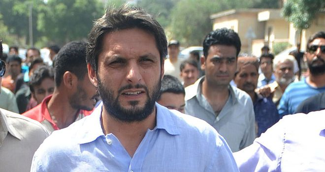 Shahid Afridi: jetting back to England for t20 duty