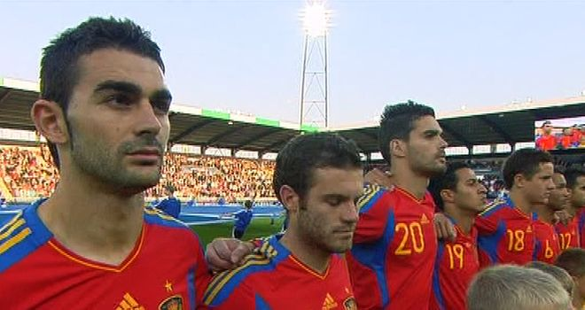 Spain overcame Belarus to reach the European Under 21 Championship final