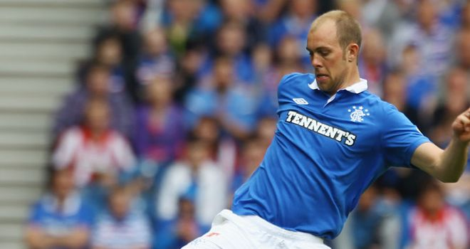 Steven Whittaker: Could be available for the Old Firm clash at Ibrox on 25th March