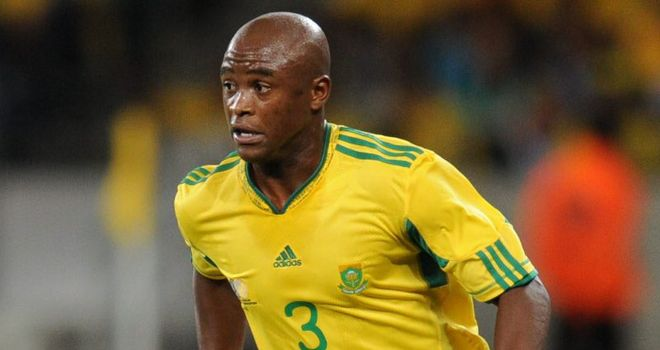 Masilela: Expected to finalise a loan move to Leicester City once he has received a work permit