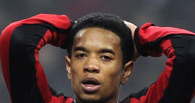 Urby Emanuelson: AC Milan man netted the only goal against Chelsea