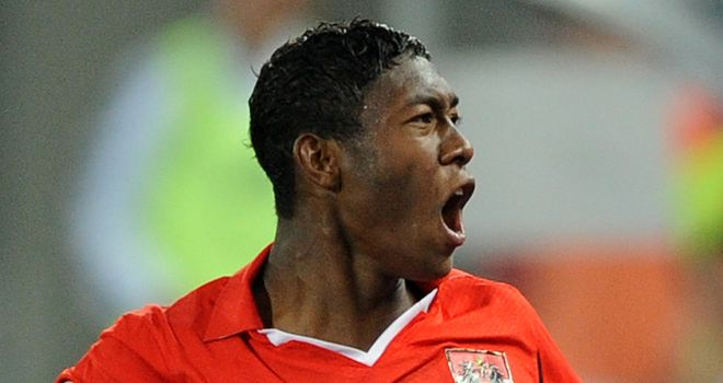 Alaba: Has been encouraged after holding talks with new Bayern boss Heynckes