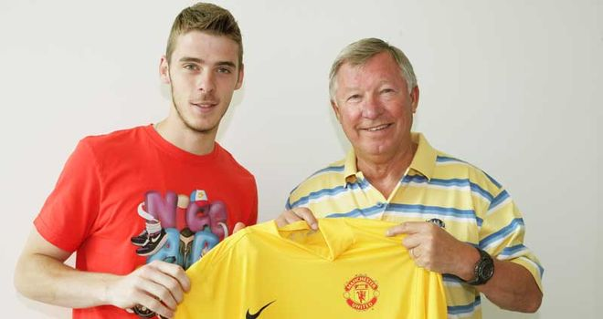 De Gea: Great expectation has been placed on his young shoulders