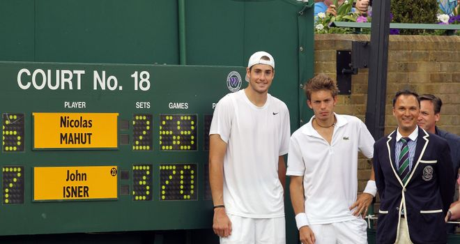 Marathon Match: Isner and Mahut at Wimbledon