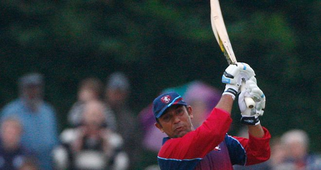 Mahmood: Impressed with bat and ball for Kent