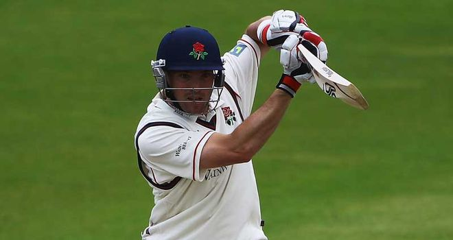 Steven Moore scored his first century for almost two years
