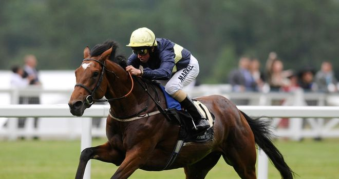 Nathaniel: Brilliant winner of King Edward VII Stakes