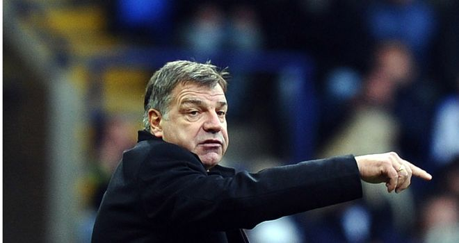 Allardyce: Insistant that no deal has yet been done for Parker