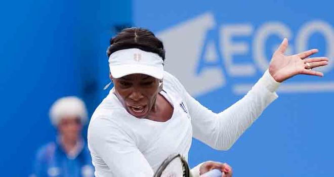 Williams: Emphatic victory at Eastbourne