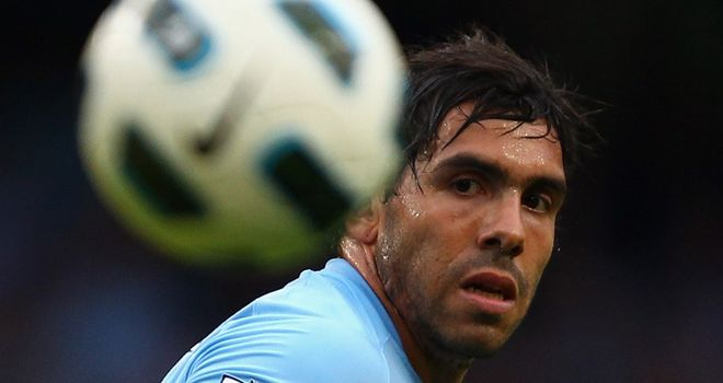 Tevez: City striker defended by former team-mate Given