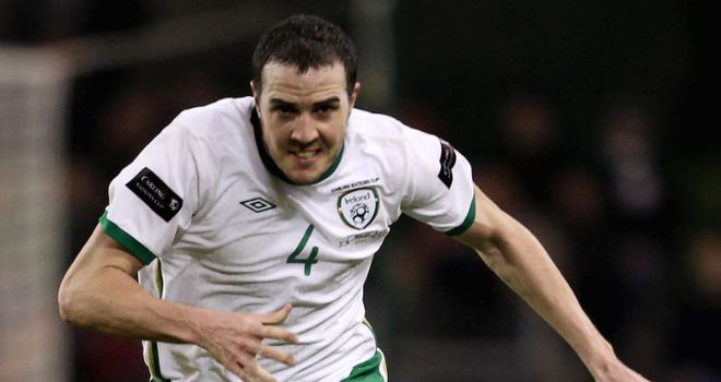 O'Shea: Still recovering from a hamstring problem but is expected to be fit for Liverpool clash