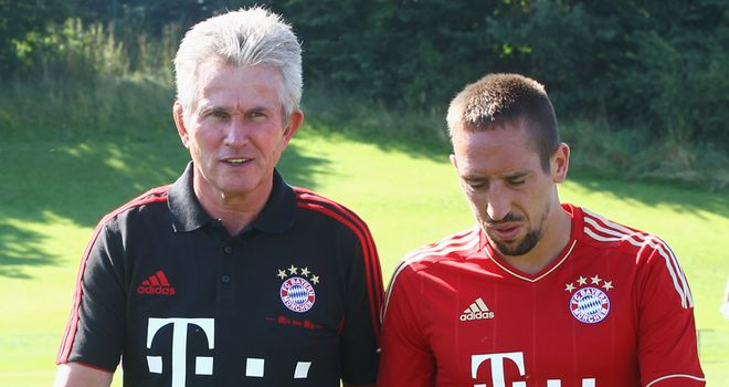 Ribery: Happy with life at Bayern Munich under Jupp Heynckes.