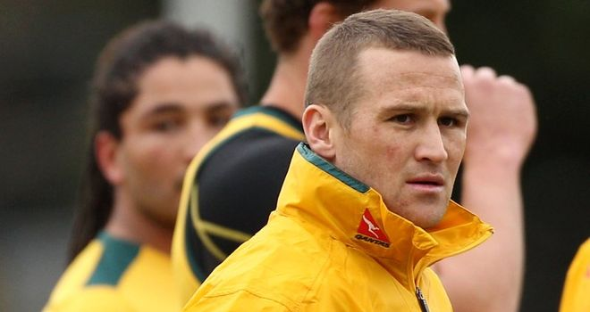 Overlooked: Giteau has been dropped for Australia's Tri-Nations opener