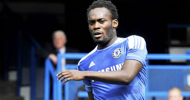 Essien: Ruptured anterior cruciate ligaments and meniscus in his right knee in pre-season training