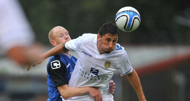 Paynter: Was given the chance to discuss a move to Brighton but wants to fight for his place at Leeds