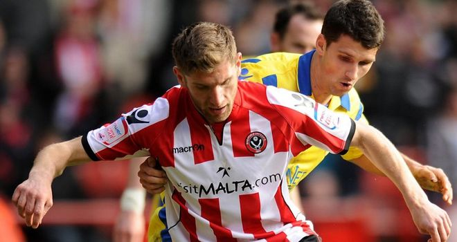 Cresswell: Scored Blades' second goal