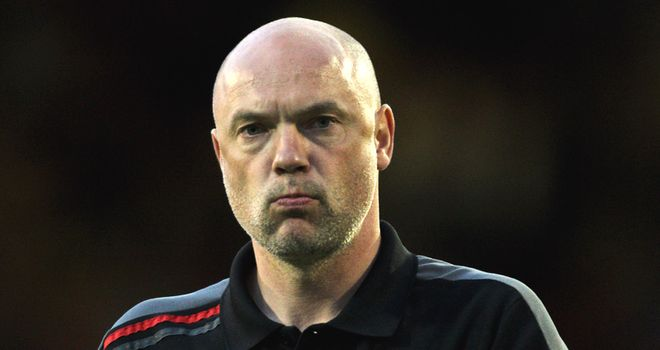 Rosler: Unhappy with referee