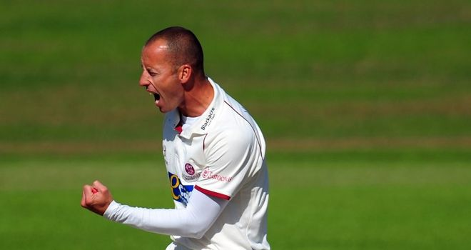 Charl Willoughby: Has left Somerset after six seasons with the county