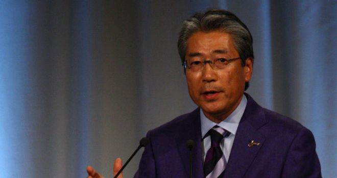 JOC president Takeda: stopped short of confirming Tokyo's plans for 2020