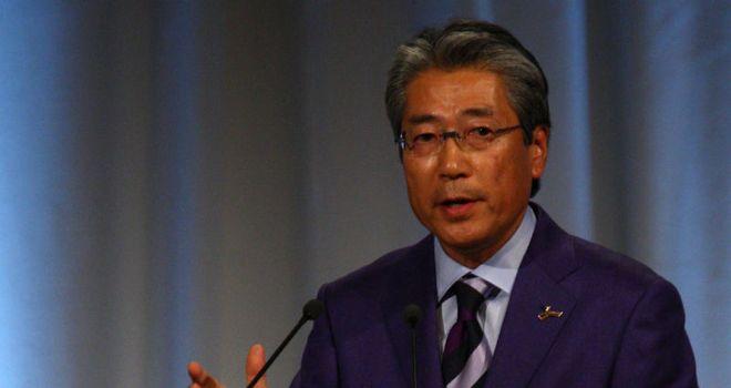 JOC president Takeda: stopped short of confirming Tokyo's plans for 2020